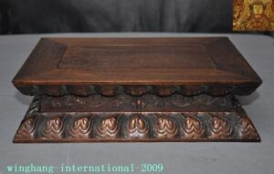 Old-Chinese-Buddhism-Temple-Huanghuali-Wood-Carved-storage-box-Buddha-stand-Base