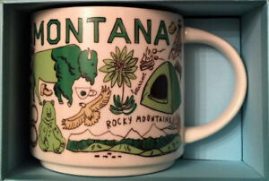 Starbucks Montana Been There Series Across the Globe Collection Coffee Mug 14oz