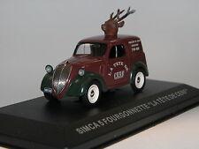 """Altaya, Simca 5 Fourgonette """"La Tête De Cerf"""", Fiat Lizenz, 1936, 1/43"""