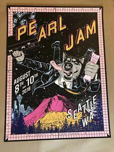Pearl-Jam-seattle-poster-faile-the-home-shows-2018-tour-safeco-field-pj-concert