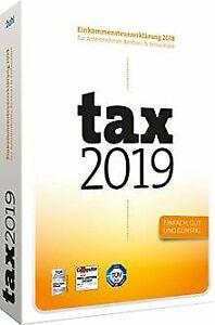 tax-2019-fuer-Steuerjahr-2018-von-Buhl-Data-Software-Zustand-gut