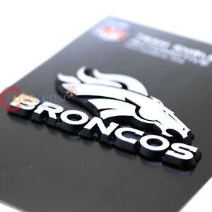 Denver Broncos Team Logo Auto Car Emblem NFL Auto Accessories Chrome ...
