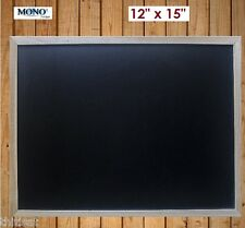 Wood Framed Chalkboard Blackboard Wall Mount Memo Chalk Board Memo Note Portable