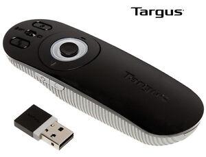 NEW-Targus-Multimedia-Presentation-Wireless-Remote-Cursor-Volume-Pointer-PC-Mac