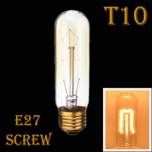 E27 3W 40W 220V Edison  Vintage Retro Filament Light Bulb Lamp Industrial Style