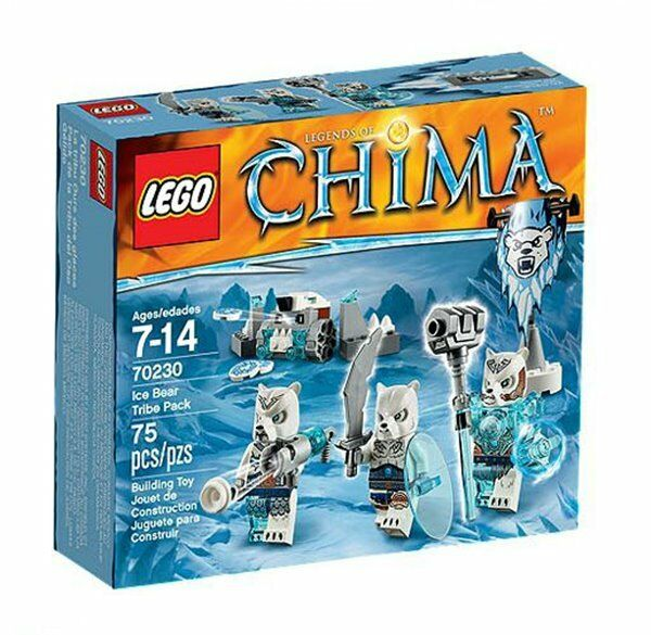 For 75pcs Years 7 14 Japan 70230 Online Sale Pack Lego Tribe Chima ZkuOPXi