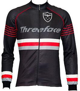 Maglia-manica-lunga-ciclismo-termica-traspirante-giacca-leggera-nero-autunno