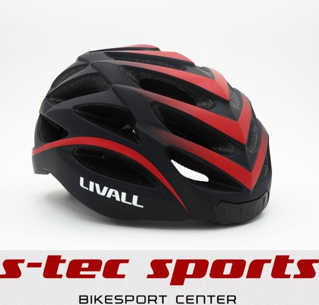 Livall Bh62se Smart-Helm Sos Sistema LED Licht-Blinker Micro azultooth App Rojo