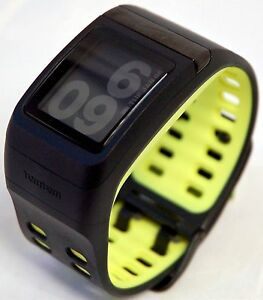 a3c3452e3e Nike+ 1JA0.017.00S Sport Watch Anthracite Volt Yellow TomTom GPS ...