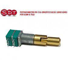 POTENZIOMETRO RV-316 (RK0972210C05 10KB/10KB) PER ICOM IC-910