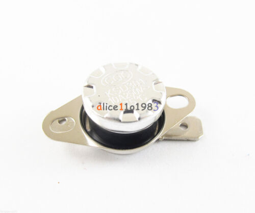 167°F Degree Celsius N.O Temperature Switch Thermostat 10A 250V KSD301 75°C