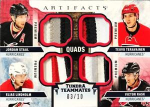 2017-18-Upper-Deck-Artifacts-Material-Jersey-Patches-Rookies-Pick-From-List