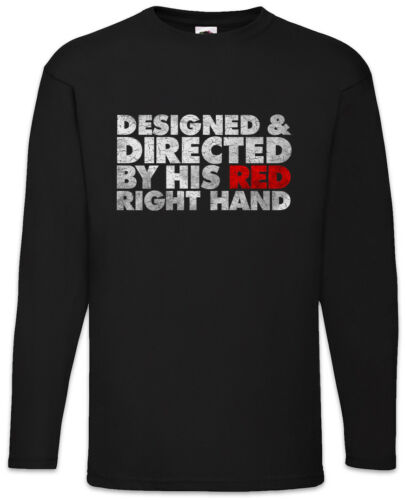Directed By His Red Right Hand Men Long Sleeve T-Shirt Peaky Shelby Blinders Fun