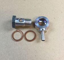 Hohlschraube M16x1,5 / Ringnippel mit Schlüsselfäche für PA-Rohr innen 6mm