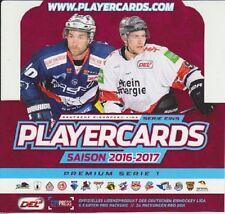 DEL 16/17 Premium Serie 1 - 5 Basekarten zum Aussuchen