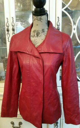 Xs kleding Cole lamshuid blazer Dames rood zachte Haan Giii lederen vNm8n0Ow