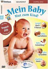 Mein Baby - Mut zum Kind ( 2 DVDs ( u.a Hilfe für Eltern, Gesund durch 9 Monate