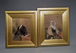 Fine-Pair-English-Portraits-of-Mr-amp-Mrs-James-McTear-M-A-ca-19th-century