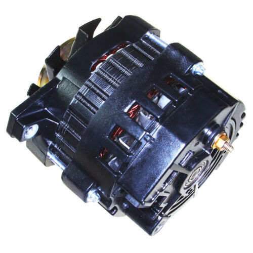 BLACK ONE 1 WIRE ALTERNATOR *220 AMPS* HI OUTPUT FOR CHEVROLET GM