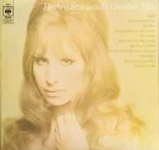 BARBRA STREISAND greatest hits 63921 A2/B1 early pressing uk cbs 1970 LP PS EX/E