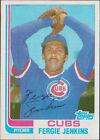 1982 Topps Fergie Jenkins #49T Baseball Card