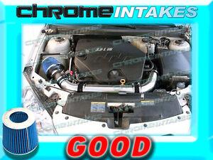 BLUE 07 08 09 10 11 CHEVY MALIBU//PONTIAC G6 3.6 3.6L V6 COLD AIR INTAKE KIT