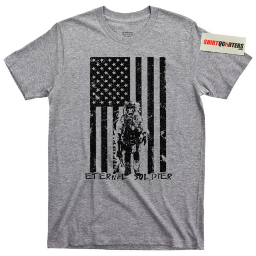 Eternal Soldier Special Operations Wounded Warrior SOWW Navy Seals Army T Shirt