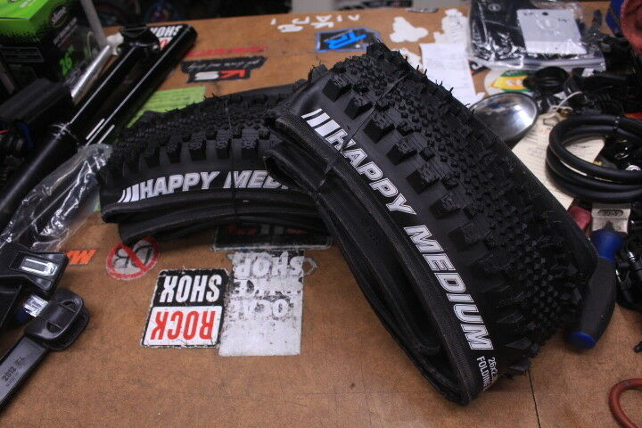 Kenda Happy Medium Folding 120tpi 26 x 2.35 Dirt Jump All Mountain Bike Tires