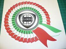Lancia Rosette Sticker