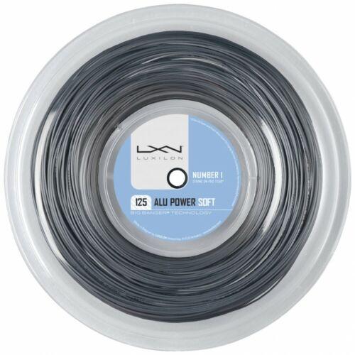 Bobine Luxilon Alu Power Soft 1.25 200m