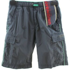 085ceb477 UNIONBAY Boy's CARGO SHORTS 6 Pockets Pull-On Lightweight DARK BLUE ...