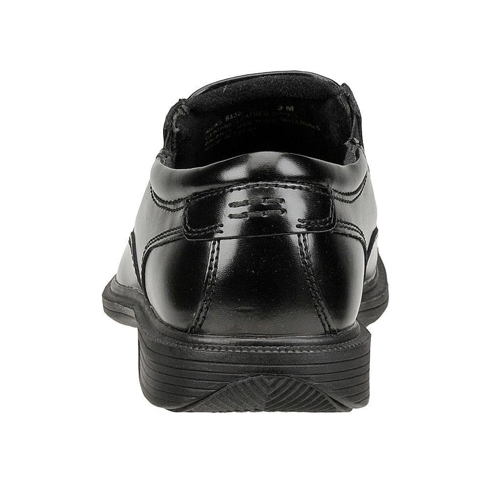 e72277c754670 ... Mens Nunn Bush shoes shoes shoes Bleeker Black Leather Comfort Bicycle  Toe Slip On 84357- ...