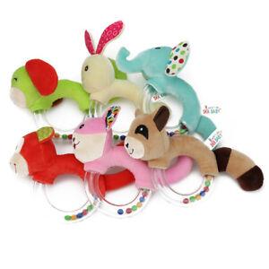 Handbells-Developmental-Toy-Bed-Bells-Infant-Kids-Baby-Soft-Toys-Rattle-SA