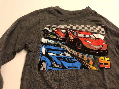 Disney Cars Tee Shirt Baby Toddler Boys Old Navy Gray