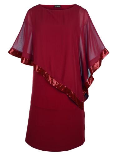 talla 50 talla 52 Marcas de noche vestido rojo con lentejuelas talla 42 talla 58 091764562 8