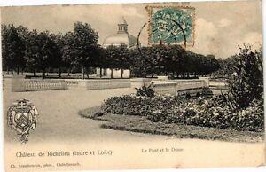 CPA Chateau de RICHELIEU - Le Pont et le Dome (227041)