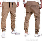 Men Stylish Casual Trousers Sweatpants Harem Pants Jogger Sportwear Baggy Slacks