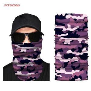 FACE MASK Sun Shield Neck Gaiter Hair Headband Bandana Du Rag Skull Cap SPF40