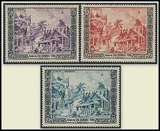 LAOS N°28/29 & PA N°13*  Jubilé S.M Sisavang Vong ,TB, 1952, SC#25-26 & C13 MLH