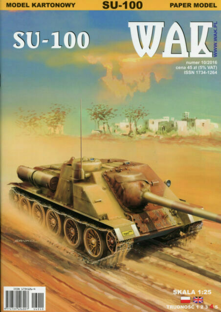 M16 MGMC WWII Self Propelled Antiaircraft Unit  Card Model Scale 1//25 WAK 2//08