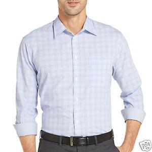 183e7651 Van Heusen Office Button-Front Plaid Shirt New Msrp Size S | eBay