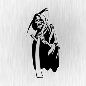 Sensenmann-Der-Tod-Death-Tuner-Tuning-Schwarz-Auto-Vinyl-Decal-Sticker-Aufkleber