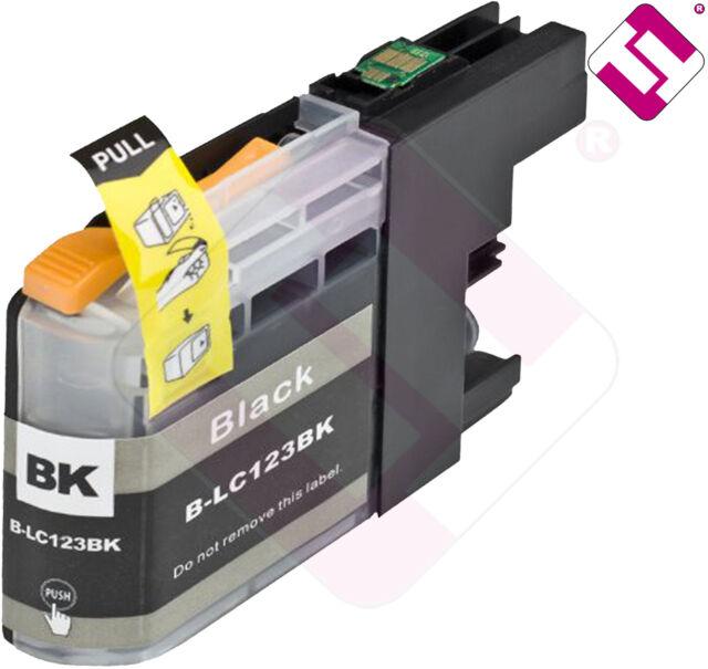 Ink Black LC123BK Printer DCP J870DW Cartridge Black Nonoembrother