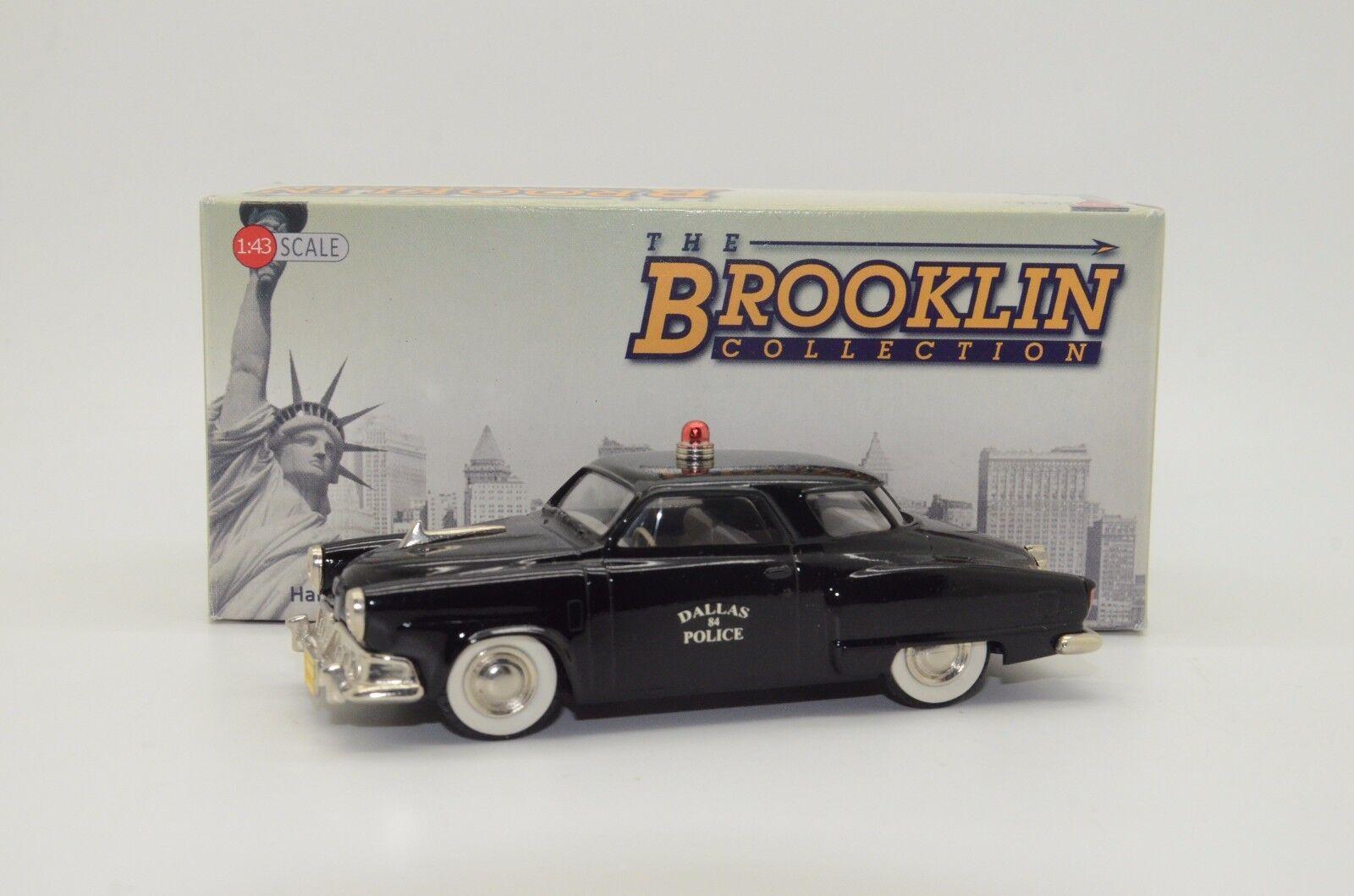 Raro Studebaker Champion policía de Dallas personalizado hecho Brooklin BRK.17