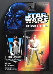 "Kenner Star Wars POTF 3.75"" Luke Yoda Stormtrooper Lando Han Solo Leia etc. MIP"