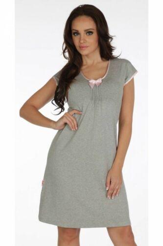 Pour Femme Doux Stretch Chemise de nuit Chemise de nuit Nightwear Taille UK 8 10 12 14 16