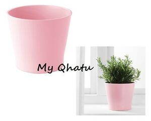 Ikea plant flower pots ceramic pink 5 papaja ebay image is loading ikea plant flower pots ceramic pink 5 034 mightylinksfo