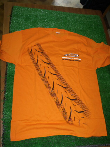 NEW Maxxis Motorcycle Tyres Orange Mens Adults Promo T Shirt supermaxx diamond