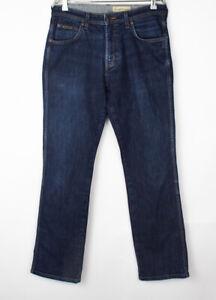 Wrangler Hommes Arizona Jeans Jambe Droite Stretch Taille W33 L32