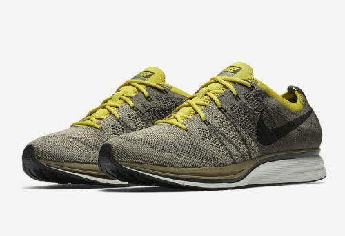 d3f15ca034906 Mens Nike Flyknit Trainer Ah8396-300 Cargo Khaki Size 7 for sale online